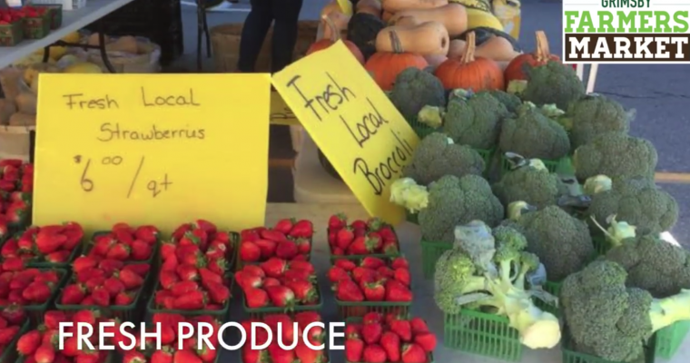 Grimsby Farmers' Market Video's