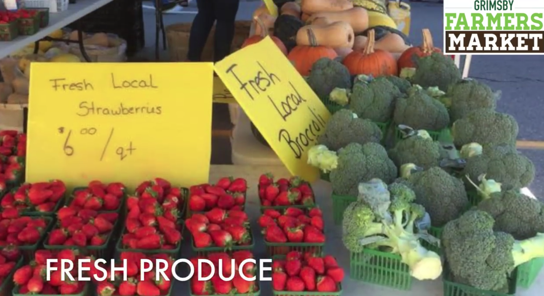 Grimsby Farmers' Market Video's